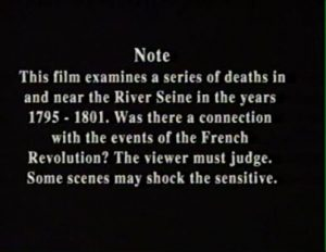 Death in the Seine 1989 1