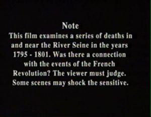 Death in the Seine 1989