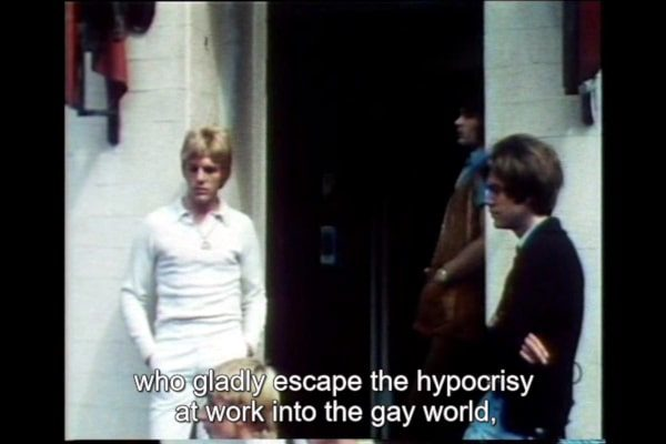 It Is Not the Homosexual Who Is Perverse But the Society in Which He Lives 1971 1