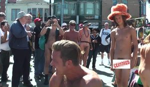 NUDE IN / BODY FREEDOM PARADE in San Francisco on September 26th, 2015 1