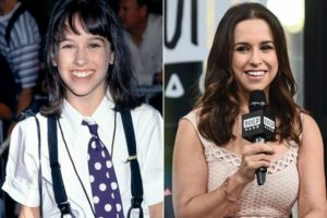 Lacey Chabert then and Now