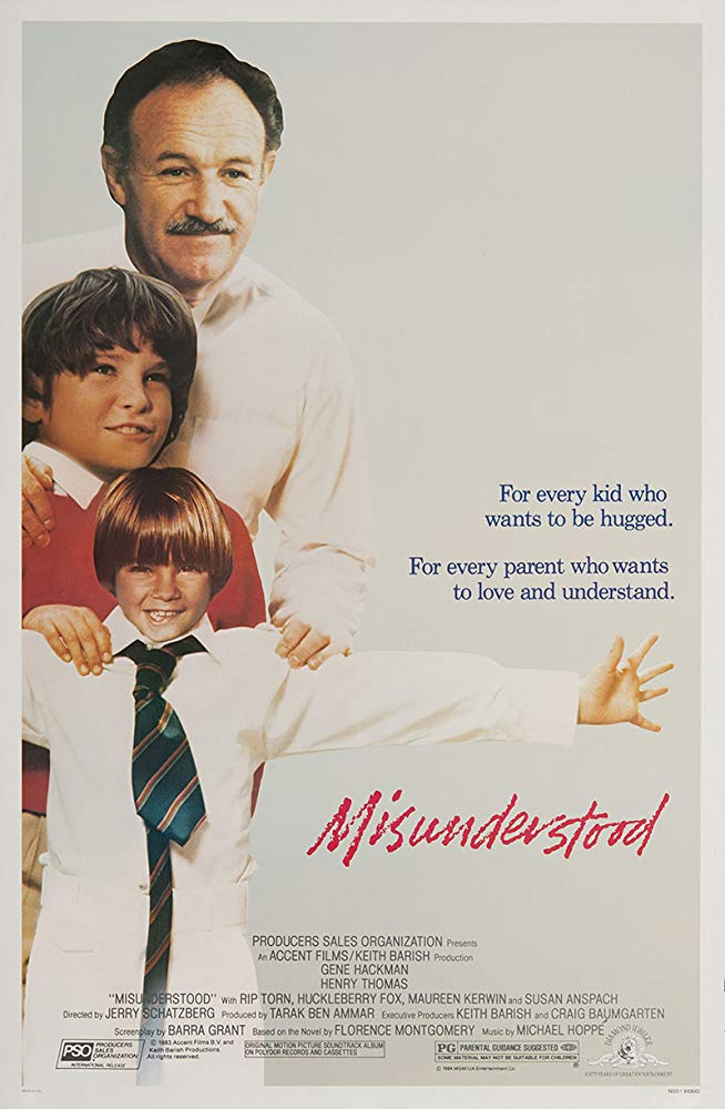 Misunderstood (1984) starring Gene Hackman on DVD
