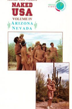 Naked USA Arizona, Nevada DVD