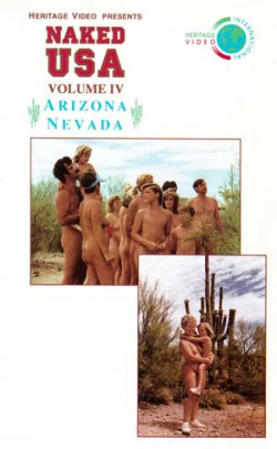 Naked USA Arizona, Nevada (59 Minutes) on DVD