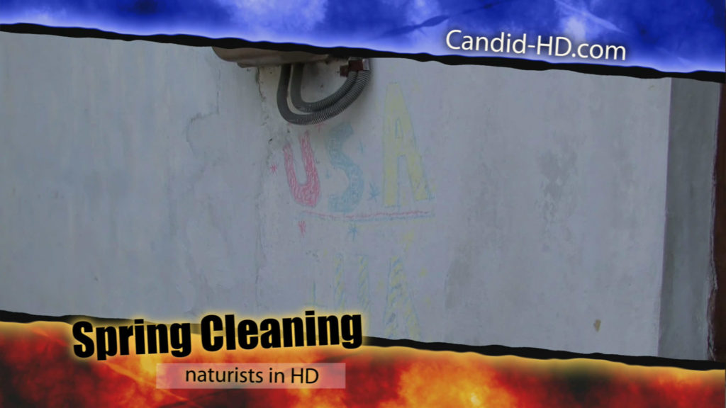 Spring Cleaning (Naturist) 80 Minutes