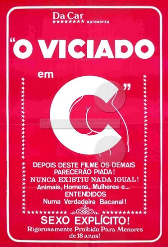 O Viciado em C (1984) Unrated on DVD