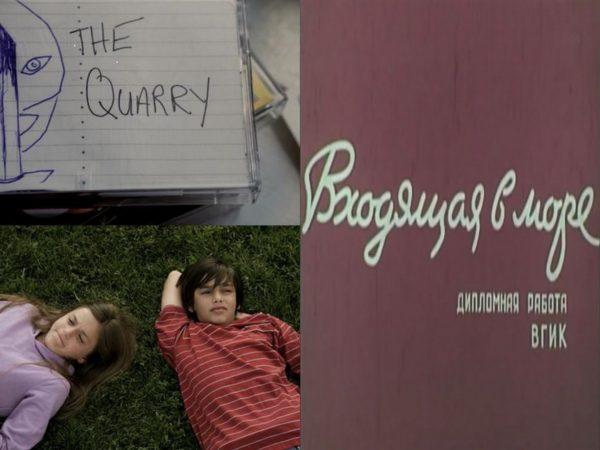 Vkhodyashchaya v more 1965 + The Quarry 2010 on DVD (Poster)