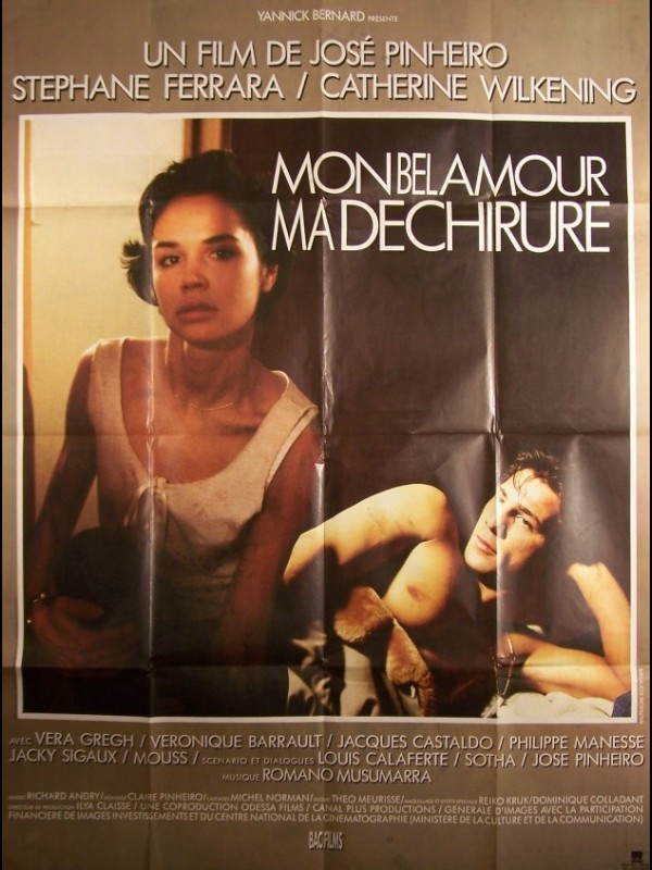 Mon bel amour, ma déchirure (1987) on DVD