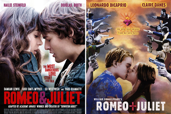 Romeo and Juliet 2013 Different Posters