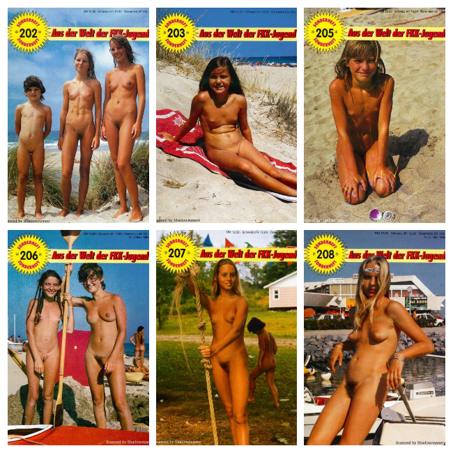 Sonnenfreunde Sonderheft Magazines 170-234 on DVD 1