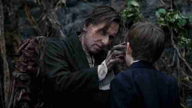 Screenshot from the movie Skellig