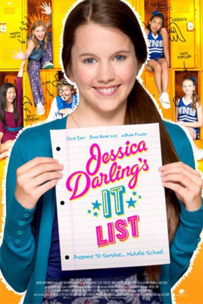 Jessica Darling's It List (2016) starring Chloe East on DVD