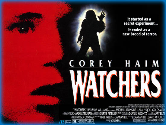 Watchers (1988) starring Corey Haim on DVD