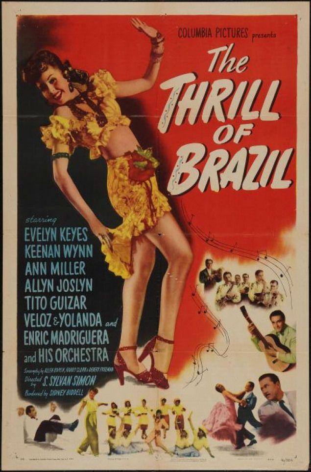 The Thrill of Brazil (1946) starring Evelyn Keyes