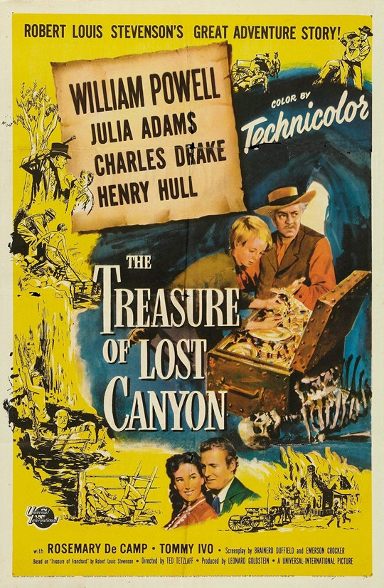 The Treasure of Lost Canyon (1952) on DVD
