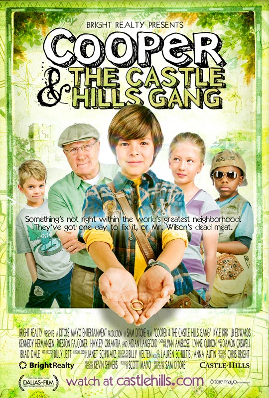 Cooper and the Castle Hills Gang (2011) DVD