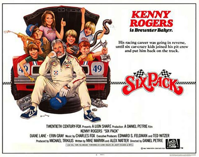 Six Pack (1982) Kenny Rogers on DVD